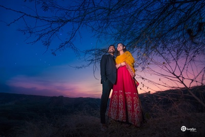 Sunset Pre wedding photography