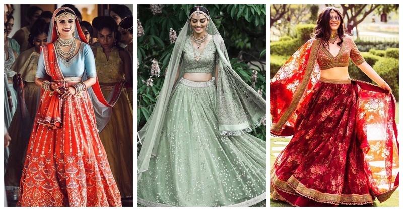 10 Bridal Lehenga Hues you Cannot Miss