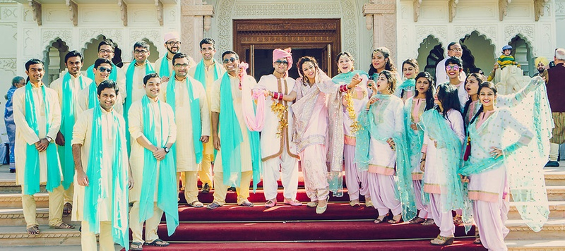 Ishaan & Nanki Jaipur : Sikh-Hindu couple managed to plan an uber-cool, fun and yet traditional wedding all by themselves!