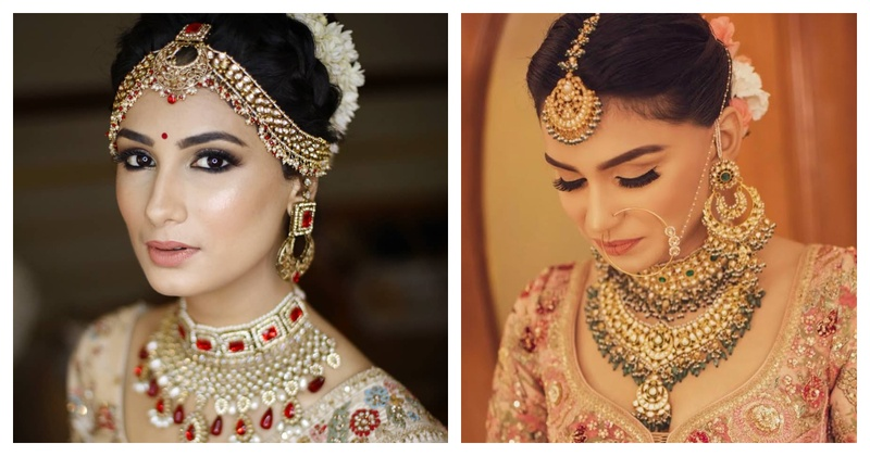 10 minimal makeup looks on real brides that we've fallen in love with!