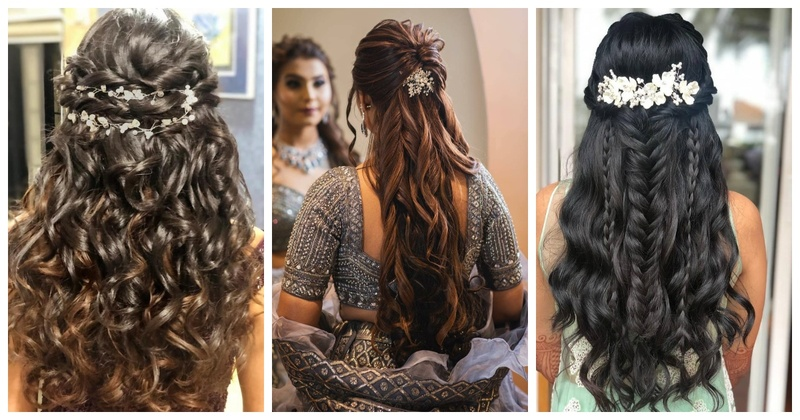 10 Best open hair-styles that you can opt for your wedding day! - Blog