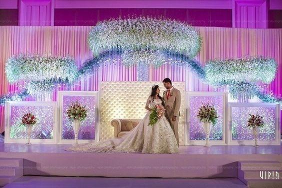 40 Best Wedding Reception Stage Decoration Ideas For 2018 Blog