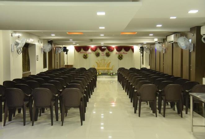 Santhoshpuri R.S. Puram Coimbatore - Banquet Hall