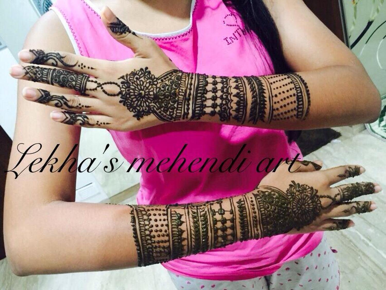 Mehndi Designs Jobs In Hyderabad : Lekha mehendi designer bridal mehndi artist in banjara