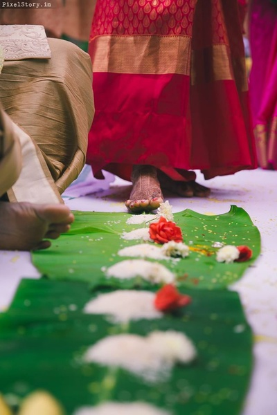 Wedding rituals shot beautifully by PixelStory.in.
