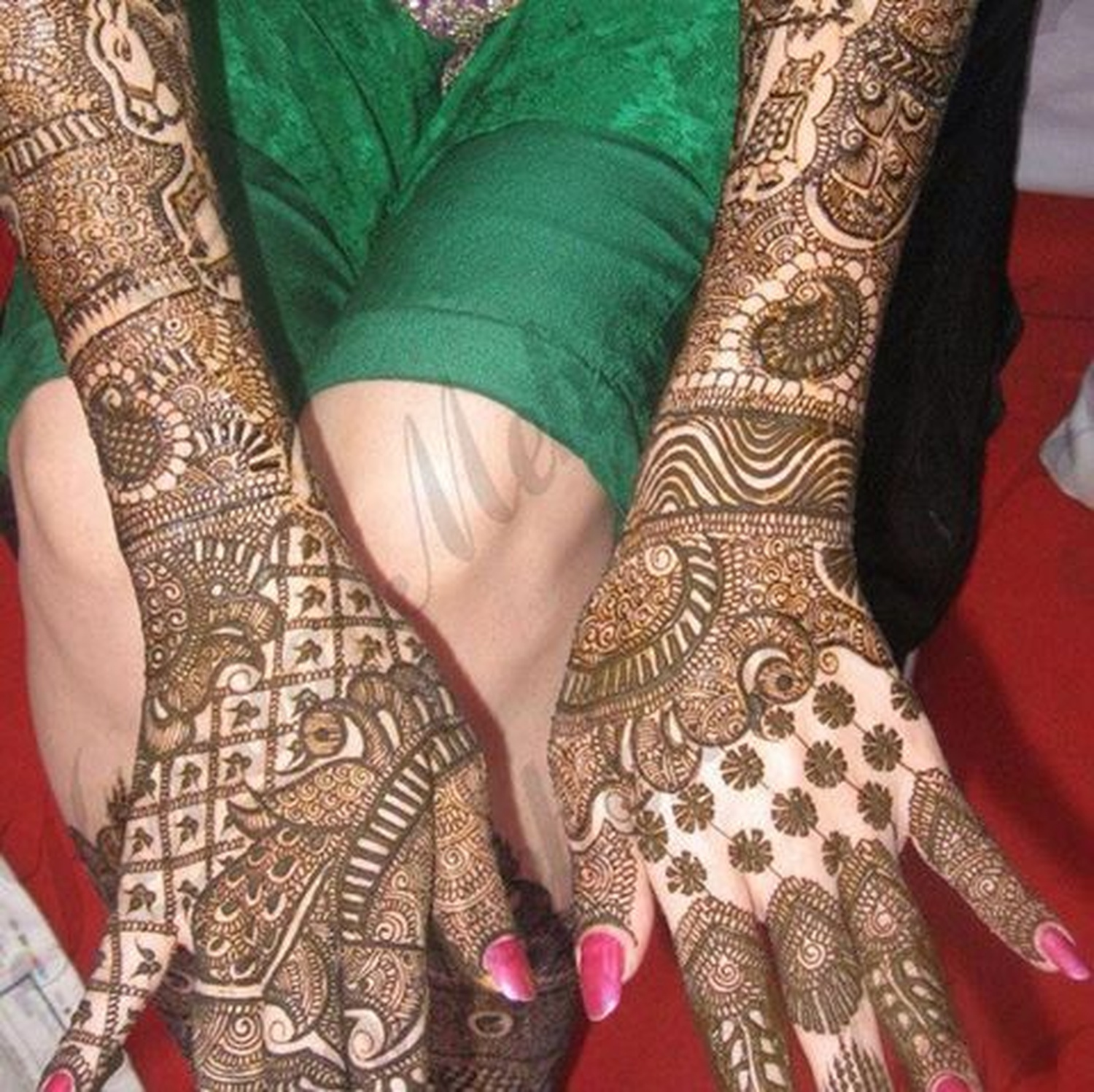 Bridal Mehndi Rates In Chennai : Durga mehndi art bridal artist in delhi weddingz