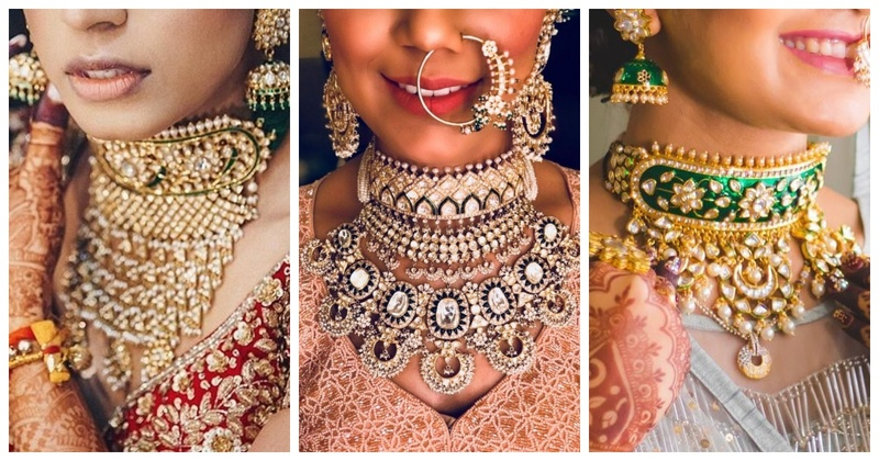 8 stunning aadh necklaces for brides who want to keep it traditional!