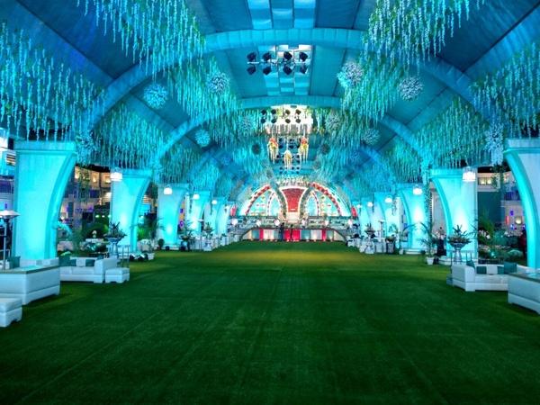 The Green Aura By Shakti Tent & Decorators Rohini Delhi - Wedding Lawn