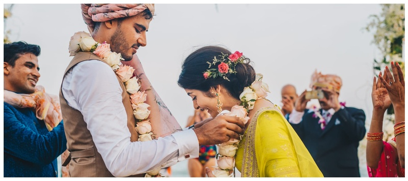 Ketan & Aditi  Hua Hin : Stunning decor, an intimate affair and the bride as part of the baraat- this wedding is inspiration