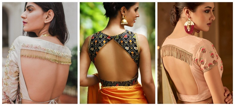 10 Sexy and Sensuous Blouse Back Styles!