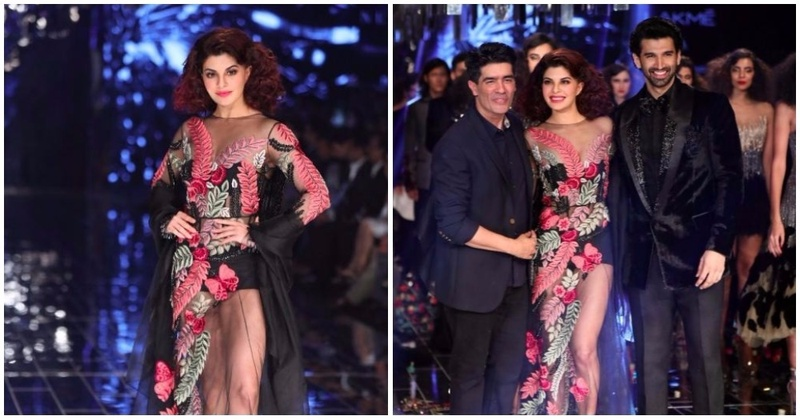 Manish Malhotra's New Evening Wear Line Is Edgy And Elegant At The Same Time - Lakme Fashion Week W/F 2017