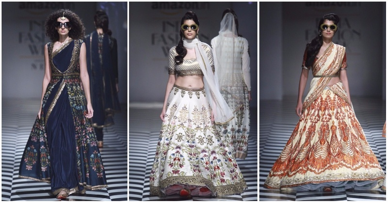 JJ Valaya's New Collection Is Perfect For Modern Indian Weddings - Amazon India Fashion Week S/S 2018