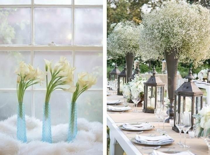 WHITE FLORAL WEDDING DÉCOR