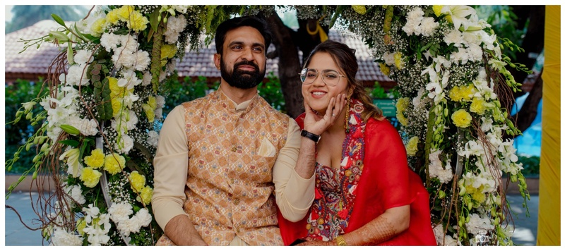 Mahesh  & Shaili Alibag : This cute couple tied the knot in a super chic and larger than life wedding ceremony!