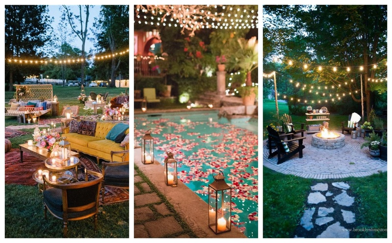 8 Backyard Wedding Ideas that Will Cast a Spell on your Guests