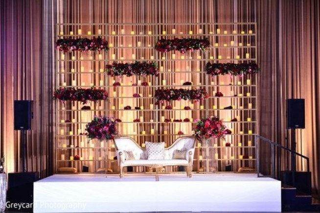 decoration lights for weddings trending stage decoration ideas for your wedding reception 3413