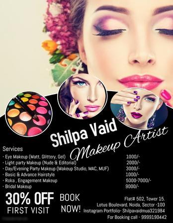 Makeup Magic with Shilpa Vaid   Delhi   Makeup Artists