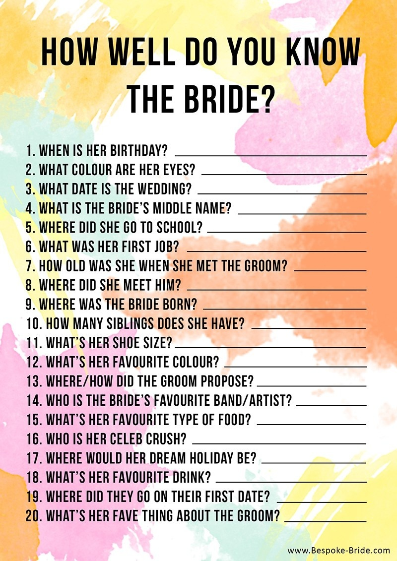 2. How Well Do You Know The Bachelorette?