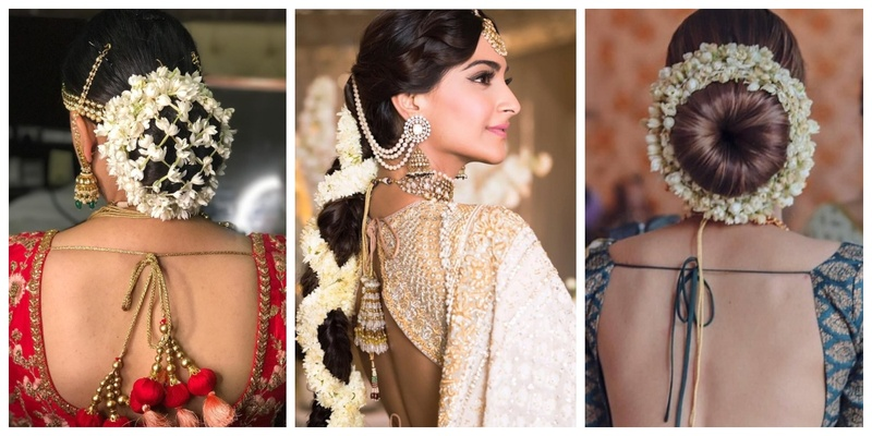15 trending gajra hairstyles that we spotted on real brides!