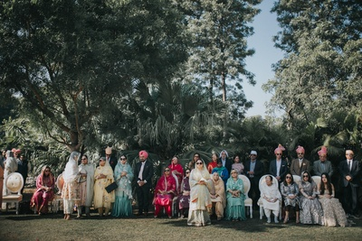 We don't call it a big fat Indian wedding for no reason, do we?