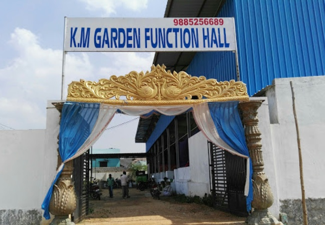 K.M Garden Function Hall Rampally Hyderabad - Banquet Hall