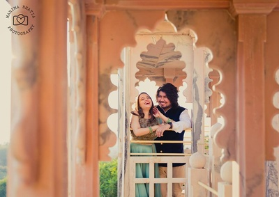 Palace pre wedding photoshoot by ace photographers- Mahima bhatia photography.