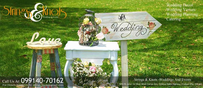 Strings & Knots Weddings And Events | Chandigarh | Decorators