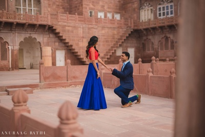 Pre wedding held in Jodhpur, the blue city