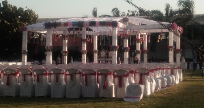Classic Party Lawns Kalavad Road Rajkot - Wedding Lawn