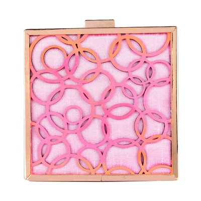 Ank  Pink Clutch