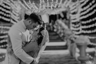 Cute couple wedding photography