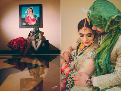 Post wedding photoshoot with the gorgeous couple