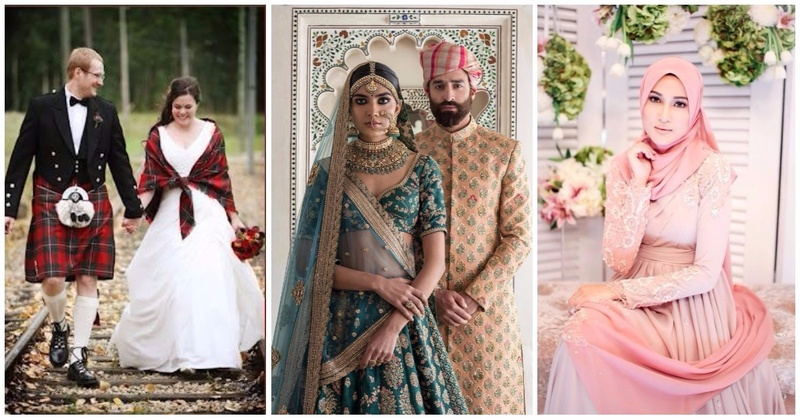 Here's What Wedding Dresses Around The World Look Like - And Our Lehenga Has Some Serious Competition!