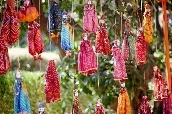 Rajasthani Kathputli (Puppets)