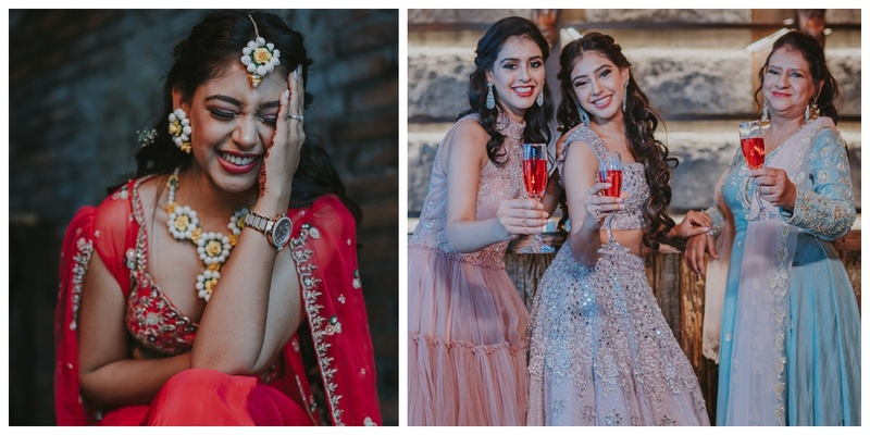 Niti Taylor Ditched her Husband for a Pre-wedding Shoot with Mom & Sister