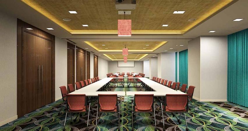 Oakwood Residency Gachibowli Hyderabad - Banquet Hall