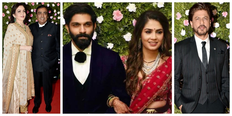 From the Ambanis, Shahrukh to Salman Khan, here are all the Bollywood Celebrities who attended the reception of Raj Thackeray's son Amit Thackeray!