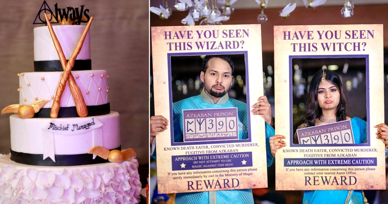 This groom surprised his fiance with a Harry Potter themed sangeet and its too cute to handle!