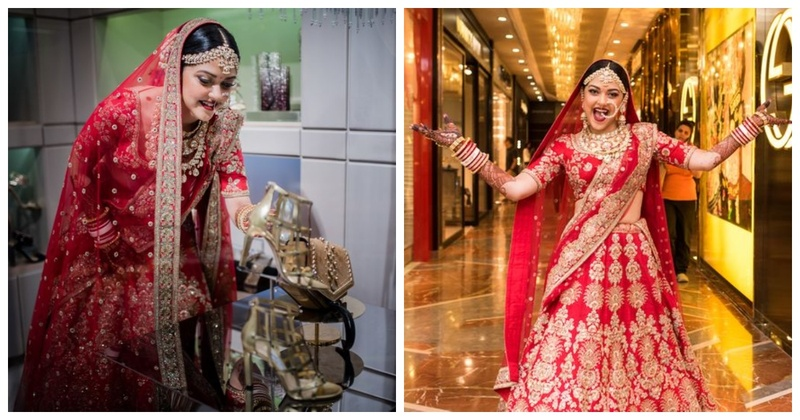 This Mumbai bride decided to hop to the nearest mall and SHOP instead of waiting for the baaraat!