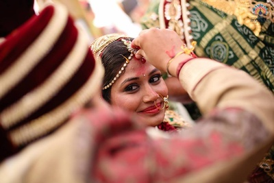 Sindoor ceremony