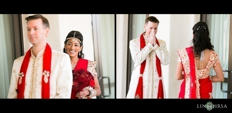 THE BRIDE AND GROOM FIRST LOOK SHOULD NOT BEDONE BEFORE THE CEREMONY
