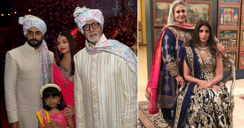 The Bachchan's Guide On What To What To Wear To A Wedding!