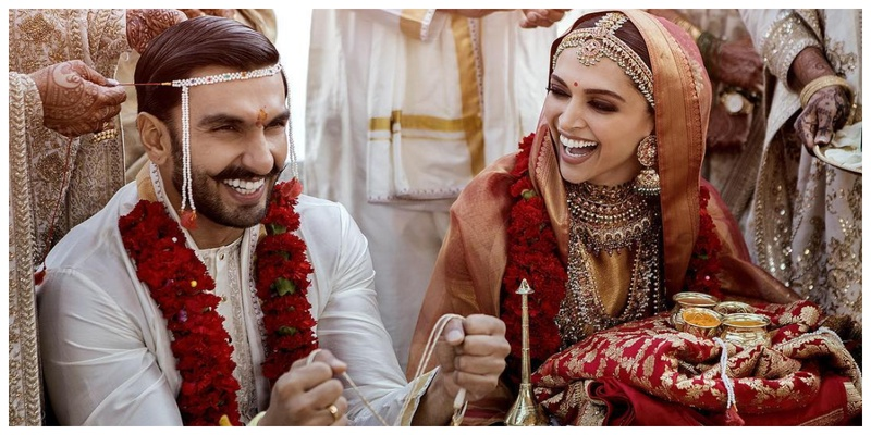 All the exclusive details from Deepika Padukone and Ranveer Singh's Sindhi Wedding today at Lake Como, Italy