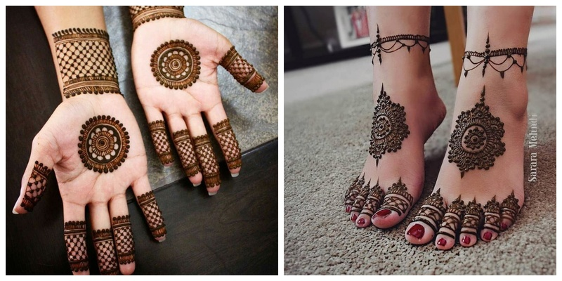 30 Basic Mehndi Designs for Hands and Feet