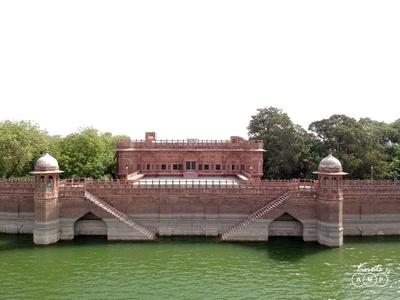 Bal Samand Lake Palace played host to Abhilash and Richa's wedding