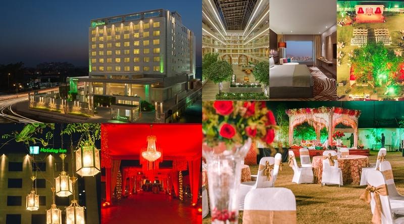 In Focus: Holiday Inn, Jaipur - A Popular Destination Wedding Venue