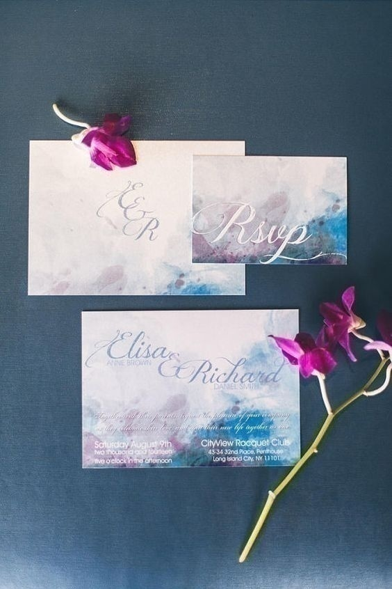 62ae6a0ce409 Trending in Wedding Ideas: How to Throw a Watercolor Themed Wedding ...