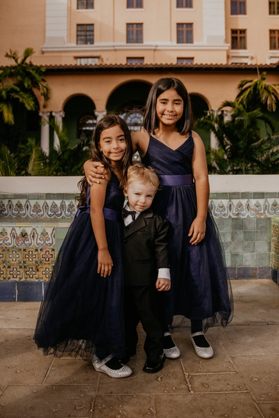 In love with these cute kiddos at the wedding!