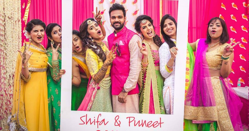 The coolest Photobooth Ideas For Your 2018 Mehndi!