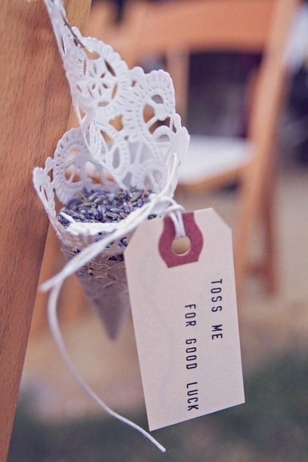 Lavender Wedding Toss